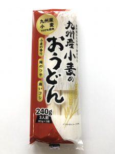 九州産小麦のおうどん